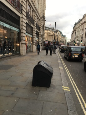 Community Chest of Grit in Piccadilly