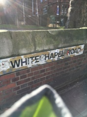 Whitechapel Road - this view is about as good as it gets