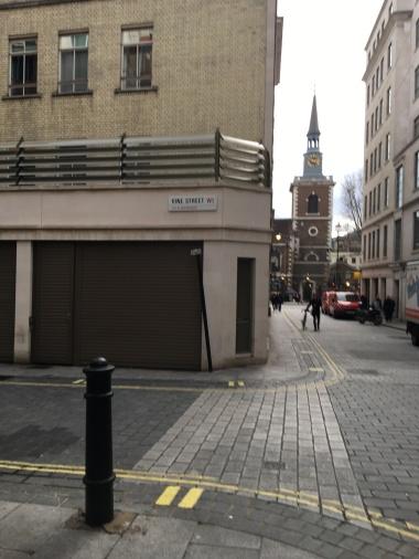 Vine Street - Covent Garden