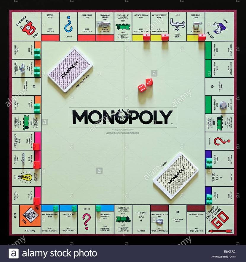 18 Jan – Banking London's Monopoly Board and Getting Jailed