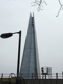 The Shard On a Grey Day