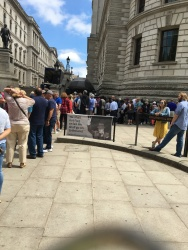 No sign at Churchill's War Rooms